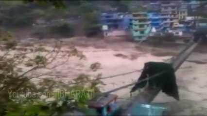Uttarakhand Flood 2013 Live Video - River Live Video