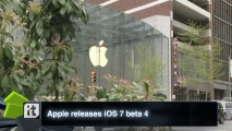 Apple releases iOS 7 beta 4