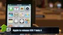 Apple to release iOS 7 beta 4; two more betas planned