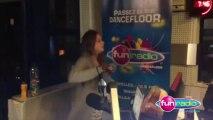 Aline danse sur la musique de Rabbi Jacob (Saison 2012/2013) - Mikl à la radio Fun Radio