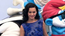 Katy Perry Wears Blue at Smurfs Premiere