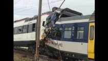 Suisse : collision frontale entre deux trains
