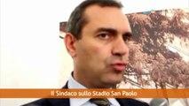 Napoli - De Magistris su stadio San Paolo e dimissioni della Tommasielli (29.07.13)