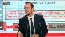 Christophe Lecourtier, directeur général d'Ubifrance, dans Le Grand Journal - 29 juillet 1/6