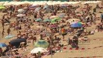 Altas temperaturas en Barcelona