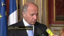 Laurent Fabius appelle à la libération de Mohamed Morsi