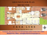 BUILDER FLOORS IN GURGAON, 9654953105, CASA LURE BUILDER FLOORS IN GURGAON