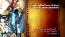 La Principessa Pucci Salame Al-Ayoubi ed il Principe Al-Ayoubi al Taormina Film Fest