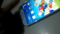 Samsung Galaxy S4 Korean with Hand Gesture