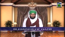 Dars of Faizan e Ramazan Ep 22 - Blessings of Qadr - Blessings of Ramadan