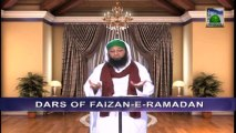 Dars of Faizan e Ramazan Ep 25 - Blessings of Eid ul Fitr - Blessings of Ramadan