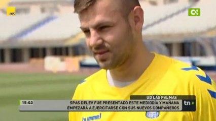 Presentación de Spas Delev como nuevo jugador amar - Vídeos de Los jugadores de la UD Las Palmas