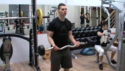 Biceps - curl barre