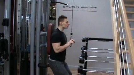 Triceps - extension poulie