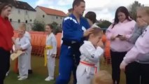 Possibly worst taekwondo martial arts demo ever
