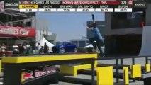 Rachel Reinhard se casse le bras aux X Games Los Angeles 2013