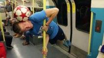 Petite démo de football avec Andrew Henderson, Champion du monde de Foot Freestyle!