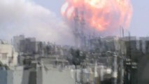 Explosion à Homs (Syrie) - 01/08/2013