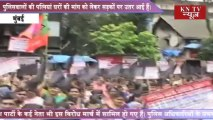 GOPINATH MUNDE LEADS MARCH TO PRSS FOR HOUSES FOR POLICEMEN