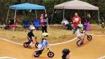 Balance Bike JoJo takes on Toddler No-Pedal Racing