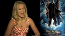 Alexandra Daddario talks Percy Jackson: Sea of Monsters