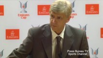 Arsene Wenger Pre Emirates Cup