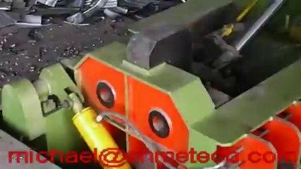 aluminum scraps baling press or metal scraps packing machine
