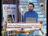 24th Iftai Zair Zaber Paish Part 1 in Amaan Ramazan with Aamir Liaquat 1434h 3-8-2013 -005