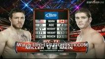 Amanda Nunes vs Sheila Gaff round