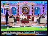 Shan-e-Ramazan With Junaid Jamshed By Ary Digital (Saher) - 4th August 2013 - Part 2