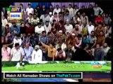 Shan-e-Ramazan With Junaid Jamshed By Ary Digital (Saher) - 4th August 2013 - Part 3