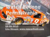 NASCAR at Pocono 04-08-2013 At 1 PM Full HD Streaming Here
