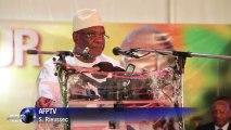 """Présidentielle au Mali: IBK demande aux électeurs """"une majorité claire et nette"""""""