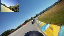 Journée de roulage ancienne  RAD Racing Le LUC run 4 série orange 14h20 1/08/2013