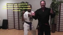 Kempo Karate Martial Arts strategy Side Kick Tip  defense maneuver 7 - GM Jim Brassard