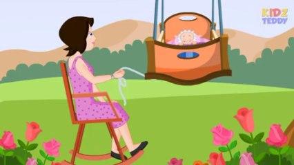 Rock A Bye Baby - Nursery Rhyme In English With Full Lyrics
