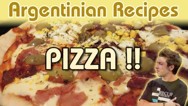 How To Make PIZZA (The Best)   | ARGENTINIAN RECIPES