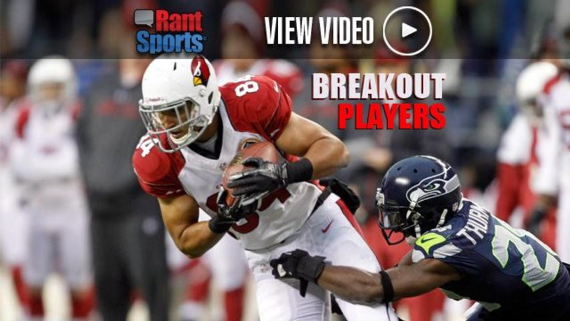 2013 Fantasy Football: Top 5 NFL Players Poised For a Breakout Season