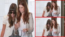 Lea Michele FIRST Public Appearance Post Cory Monteith Death - Lea Michele Attends Baby Shower