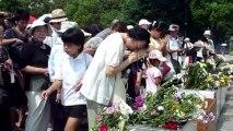 68ème anniversaire de la bombe nucléaire américaine d'Hiroshima