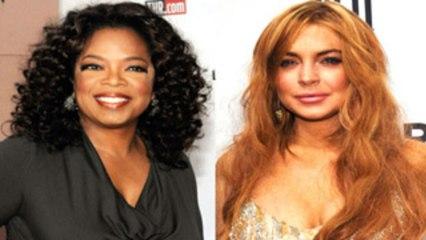 Lindsay Lohan gets Advice from Oprah Winfrey