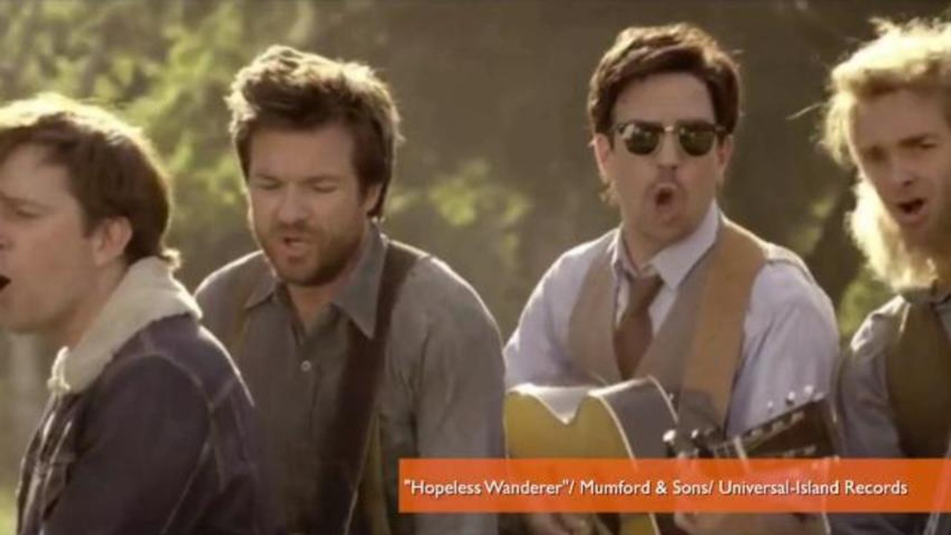 Jason Sudeikis, Ed Helms Star in Amazing Mumford & Sons Parody