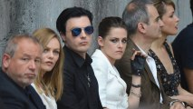 Johnny Depp Baby Mama Vanessa Paradis And Kristen Stewart Are in Paris