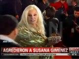TeleFama.com.ar Agresión a Susana Giménez en los Martín Fierro 2013