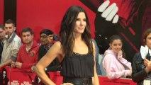 Sandra Bullock Brings The Heat At Premiere