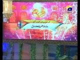 27th Iftari Final of Zair Zaber Paish in Amaan Ramazan with Aamir Liaquat 1434h 6-8-2013 000