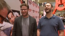 """Seth Rogen and Evan Goldberg Hit The Mall and Joke About """"This Is The End"""""""