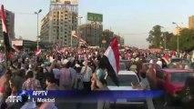 Egypte: les pro-Morsi manifestent au Caire