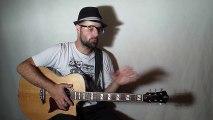 Le rythme à la guitare, les 4 temps (rythme 01) avec zamzam