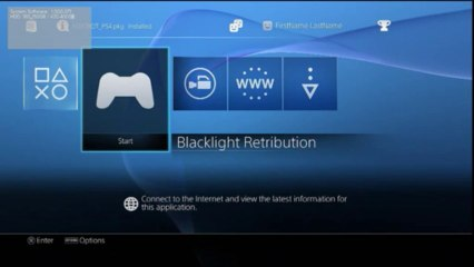 PS4 - User Interface Leak (Early Test Kit Build) de